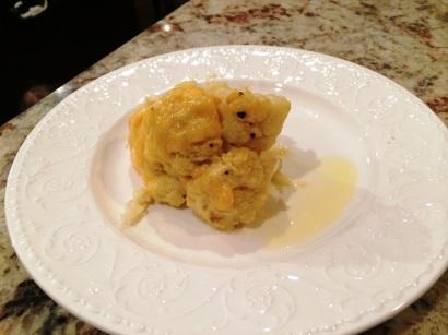 Cauliflower w cheese
